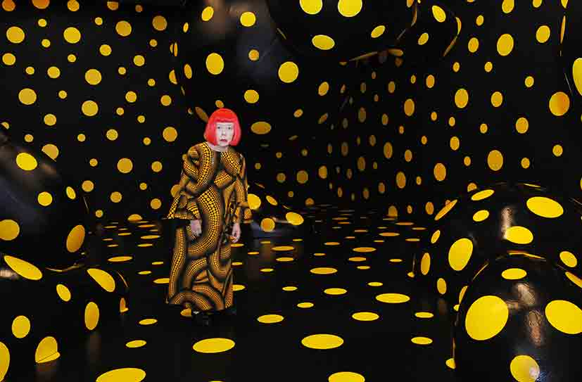 9 reasons to celebrate Yayoi Kusama on her 90th birthday