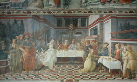 Filippo Lippi, <em>Feast of Herod: Dance of Salome</em>(c.1460-64)