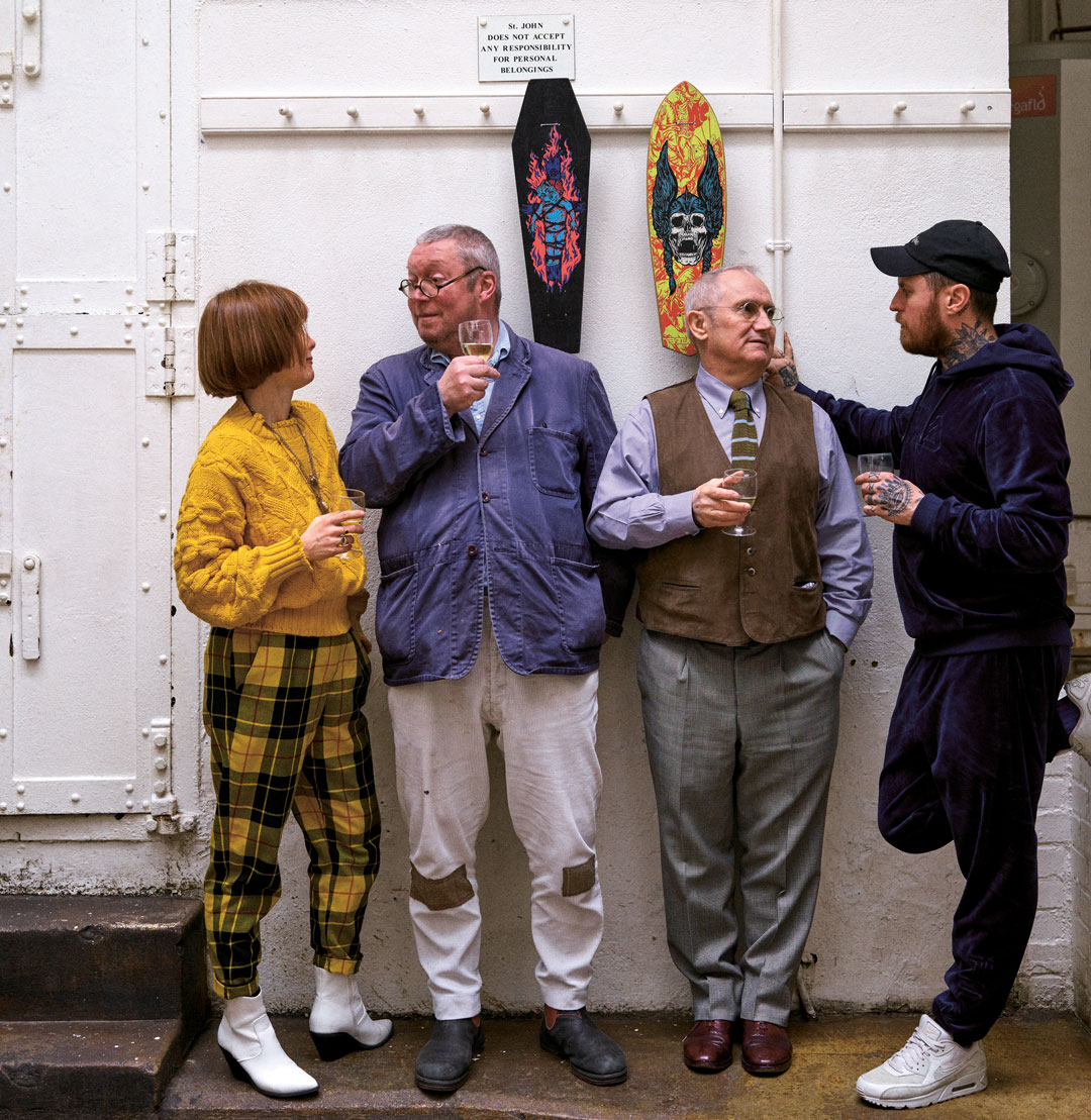 Fergus Henderson on lunch, Martin Parr and our new chef