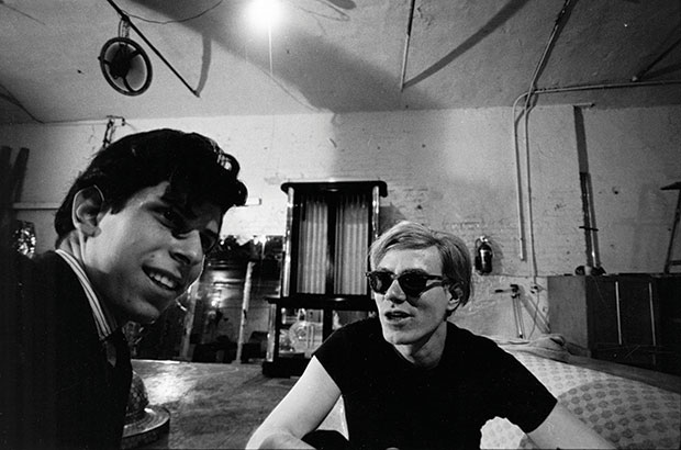 Stephen Shore and Andy Warhol, as reproduced in Factory: Andy Warhol 1965-1967 by Stephen Shore