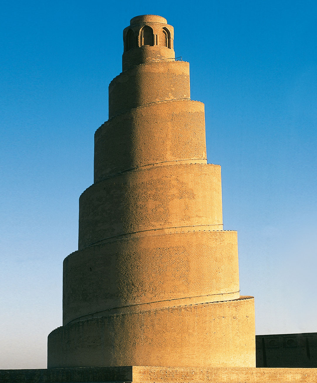Malwiya Minaret, Samarra, Iraq, 851. From Brick