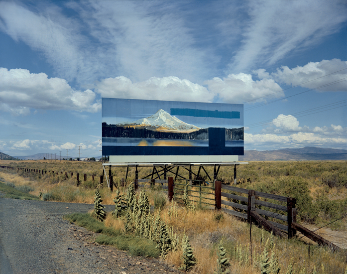 Stephen Shore, U.S. 97 (21 July, 1973), South of Klamath Falls, Oregon, USA