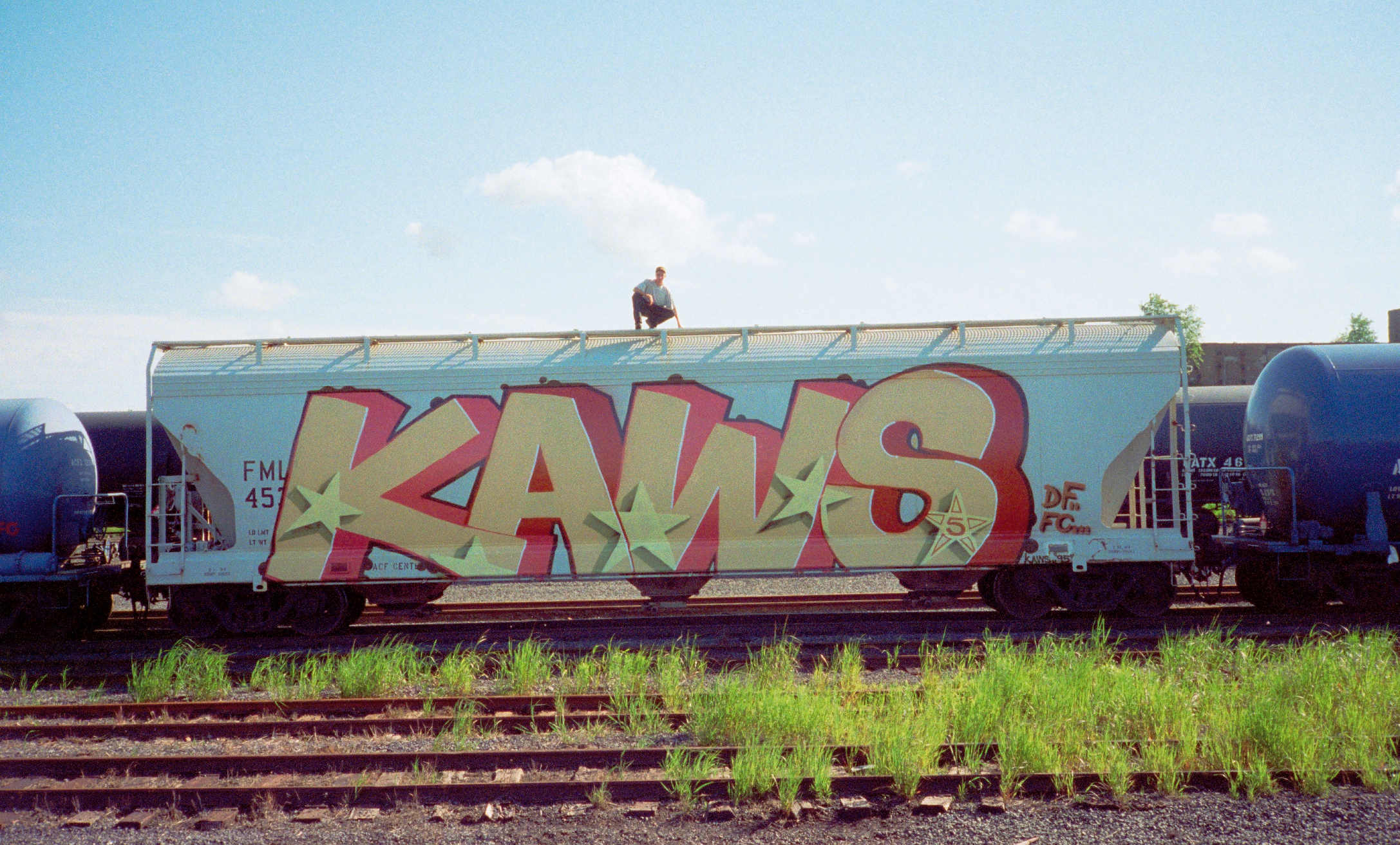 What the early graffiti of KAWS tells us about his later success