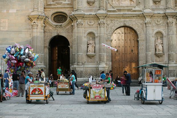 Street vendors in Mexico City. Photo by Araceli Paz. From Enrique Olvera's Mexico From the Inside Out