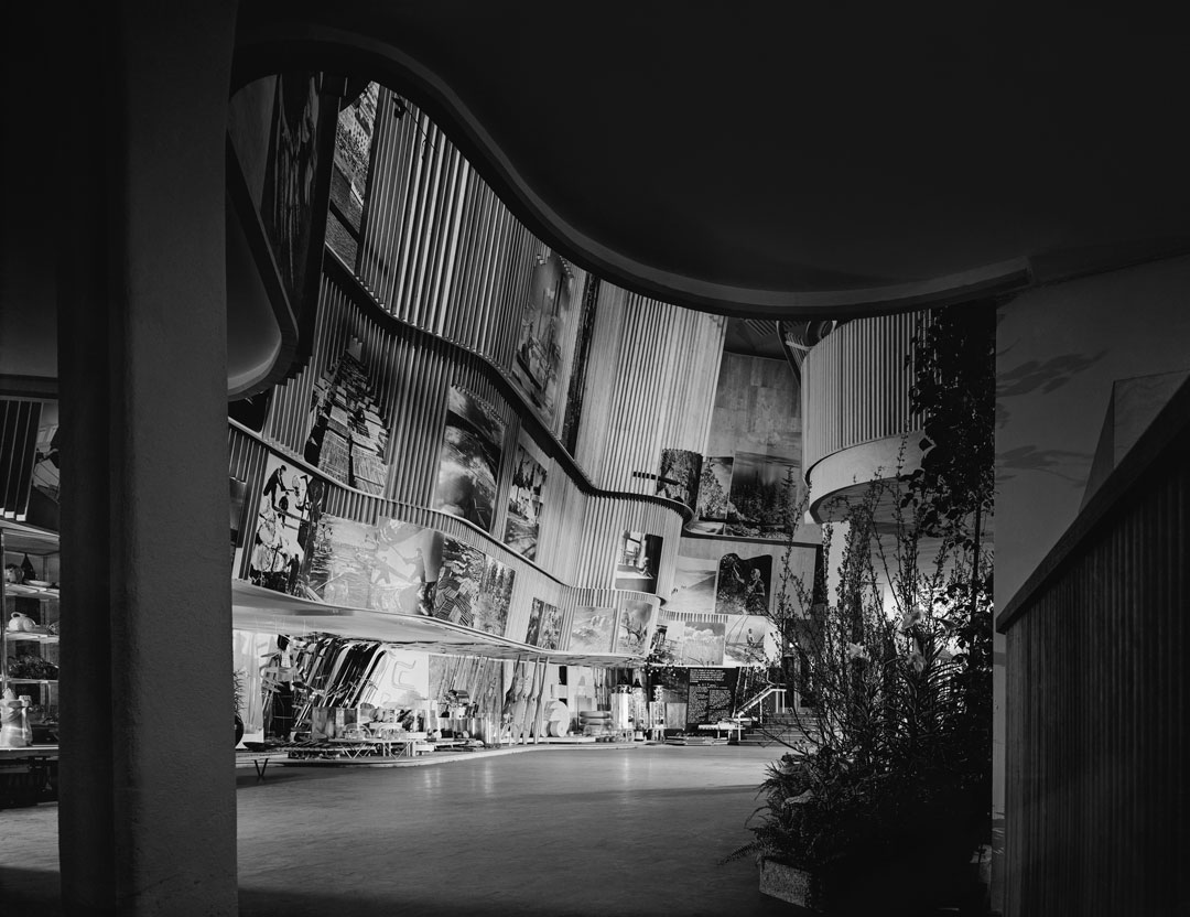 Ezra Stoller: Alvar Aalto, Finnish Pavilion, New York World's Fair (1939), Queens, NY, 1939. Courtesy and copyright (c) Esto