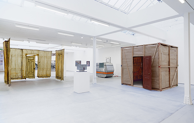 Installation view, Room, Sadie Coles HQ, London, 13 January – 18 February 2017. Copyright the artists, courtesy Sadie Coles HQ, London