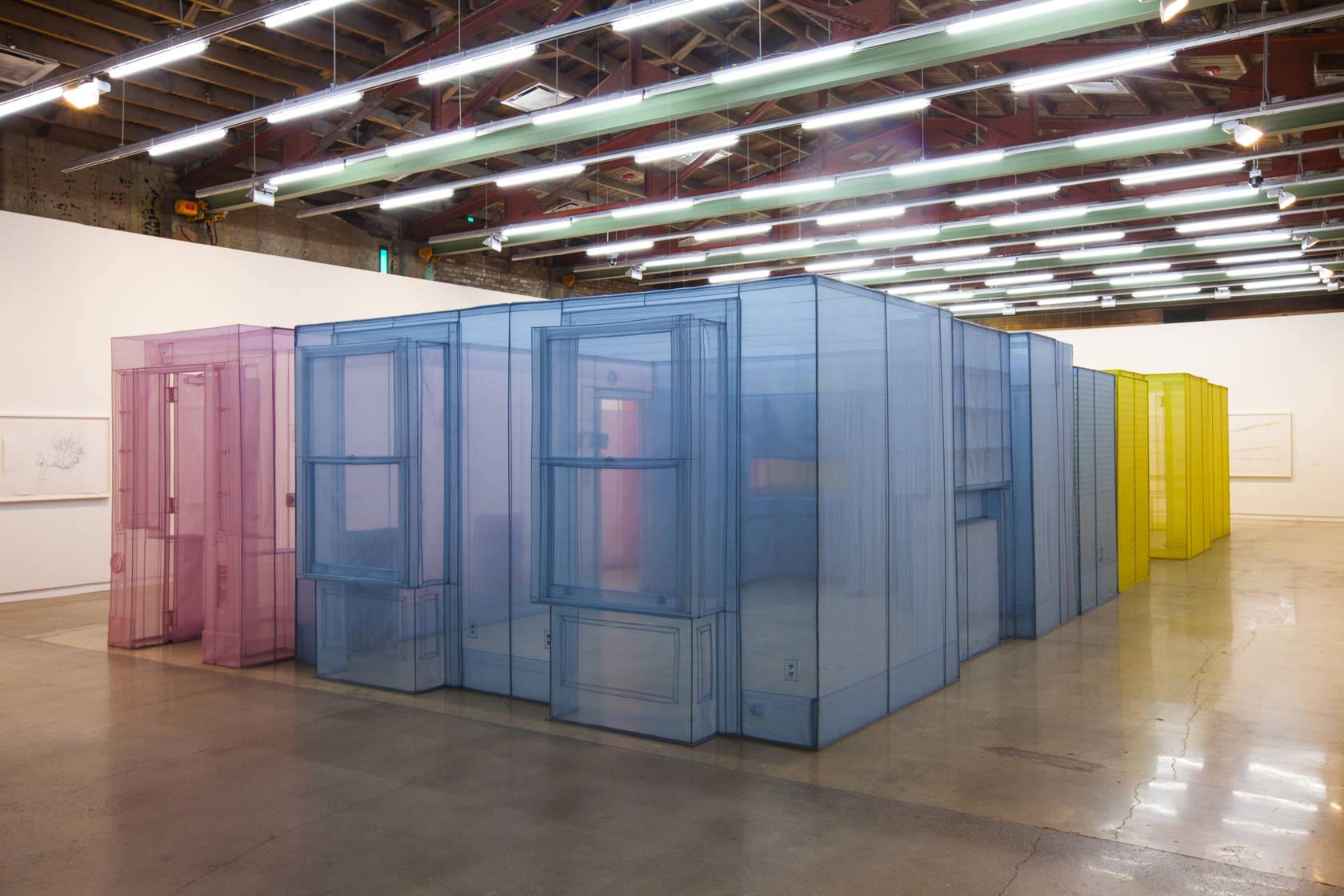 Installation view of Do Ho Suh at The Contemporary Austin