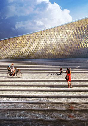 EDP Foundation Cultural Centre, Lisbon - Amanda Levete Architects