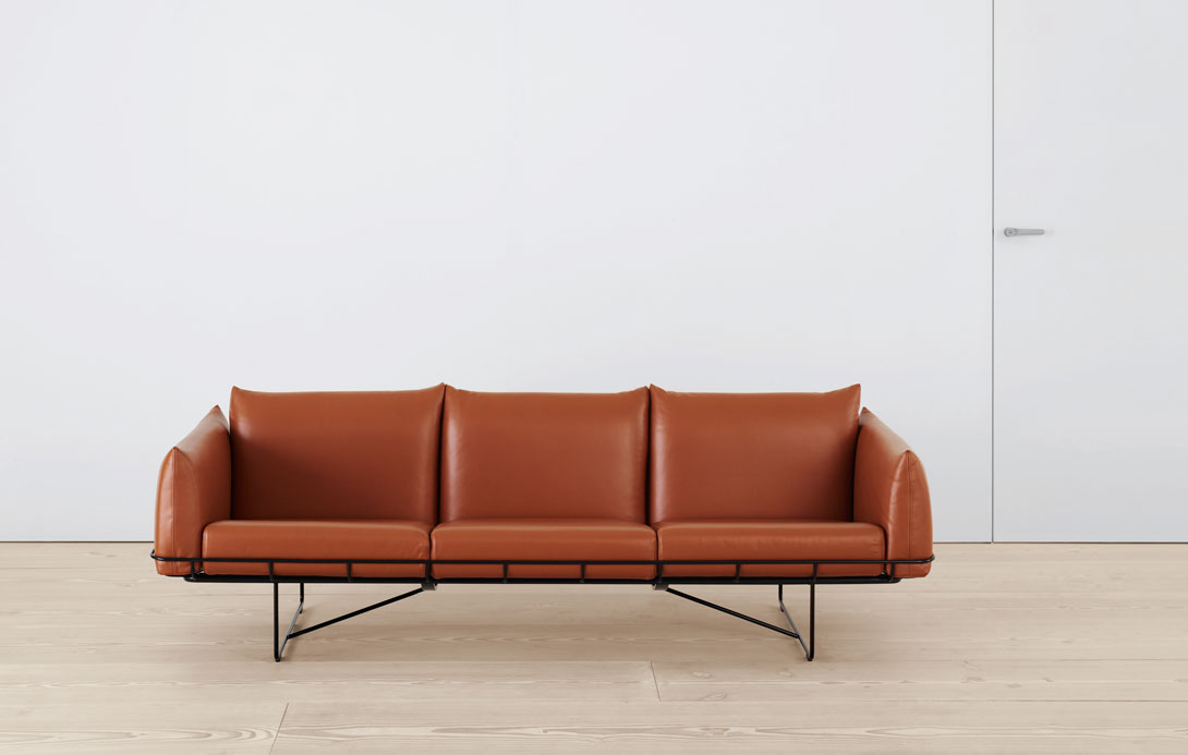 The Wireframe Sofa, 2011 by Industrial Facility for Herman Miller