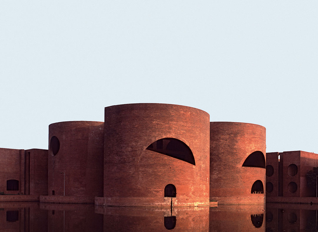 National Assembly Building, Dhaka, Bangladesh, 1982, Louis I. Kahn