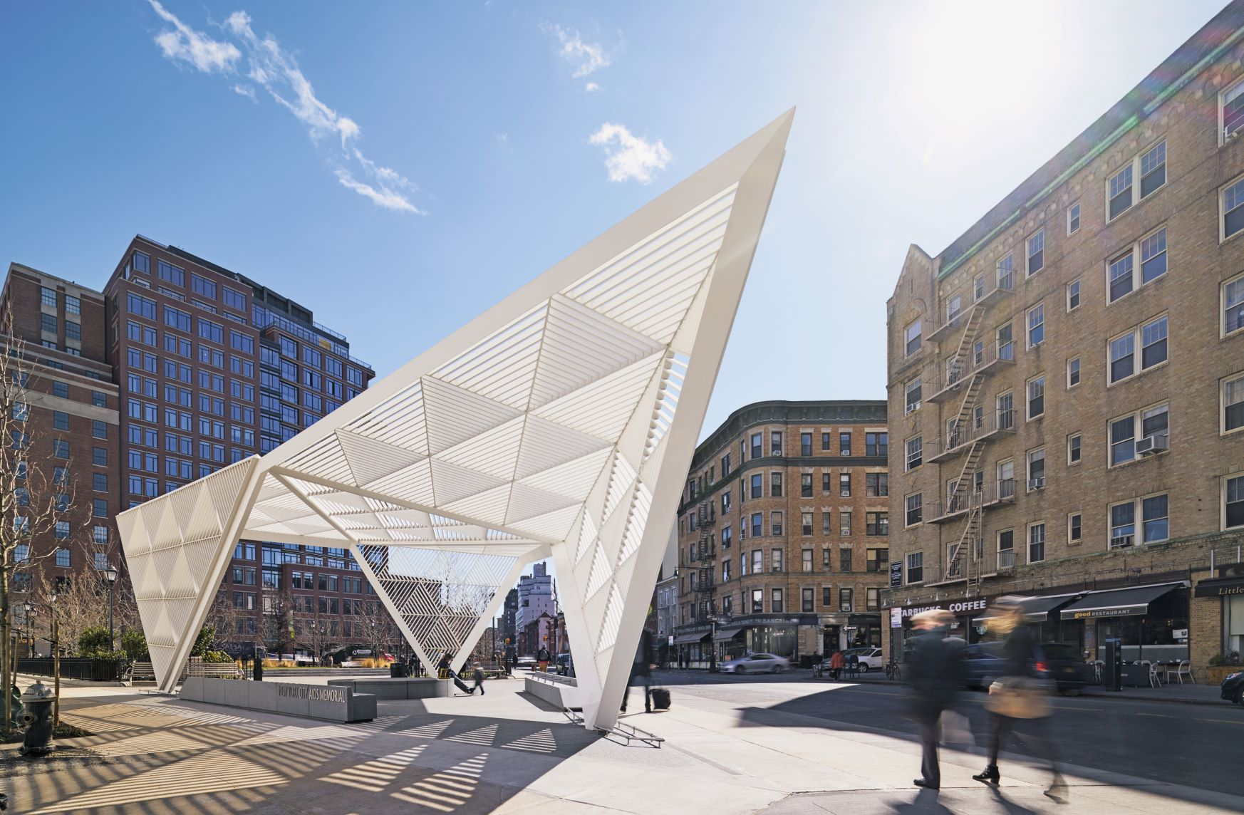 New York City AIDS Memorial, New York City, New York, USA. Studio AI Architects (2016). Photograph by Edward Caruso