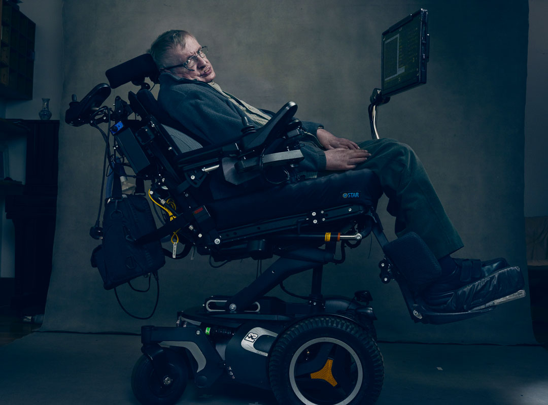 How Annie Leibovitz captured Stephen Hawking's willpower