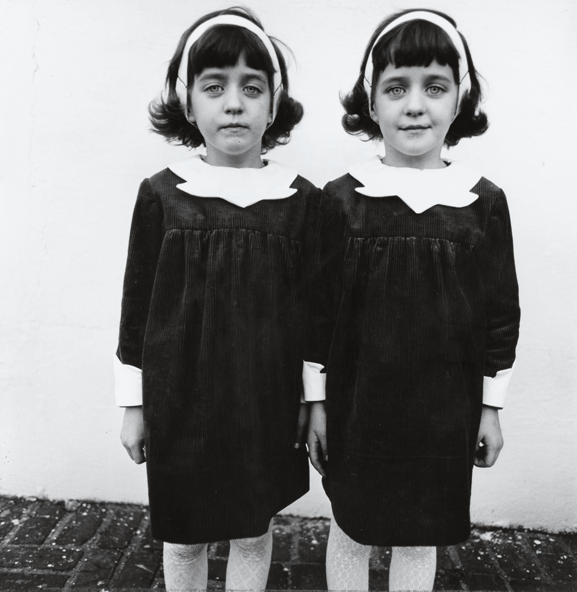 Identical twins, Roselle, NJ, 1966 by Diane Arbus