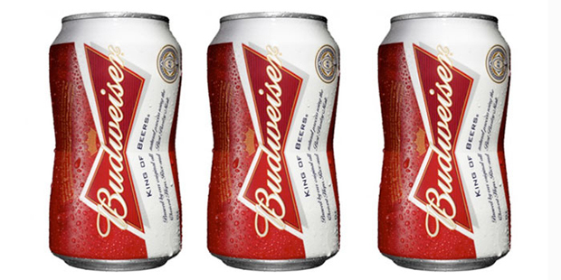 Budweiser introduces new bow tie can