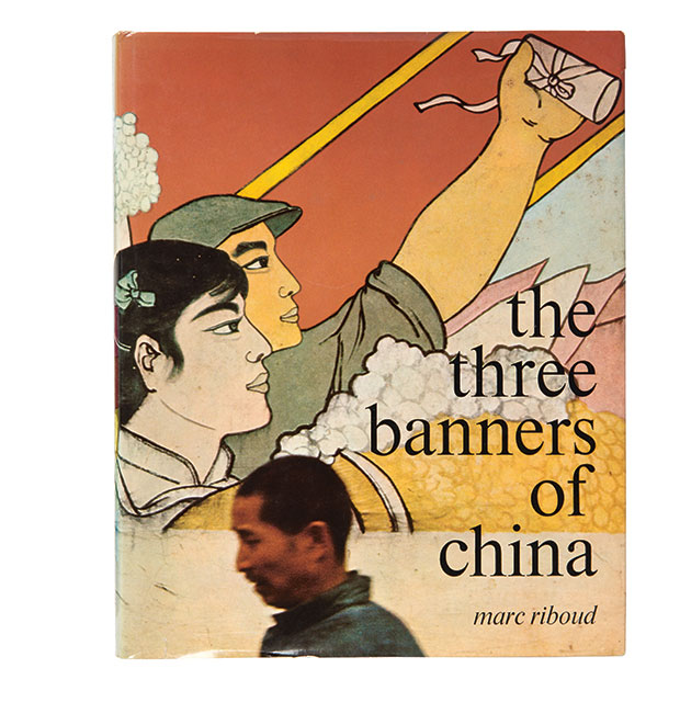 The cover from the three banners of china by Marc Riboud, from Magnum Photobook: The Catalogue Raisonné