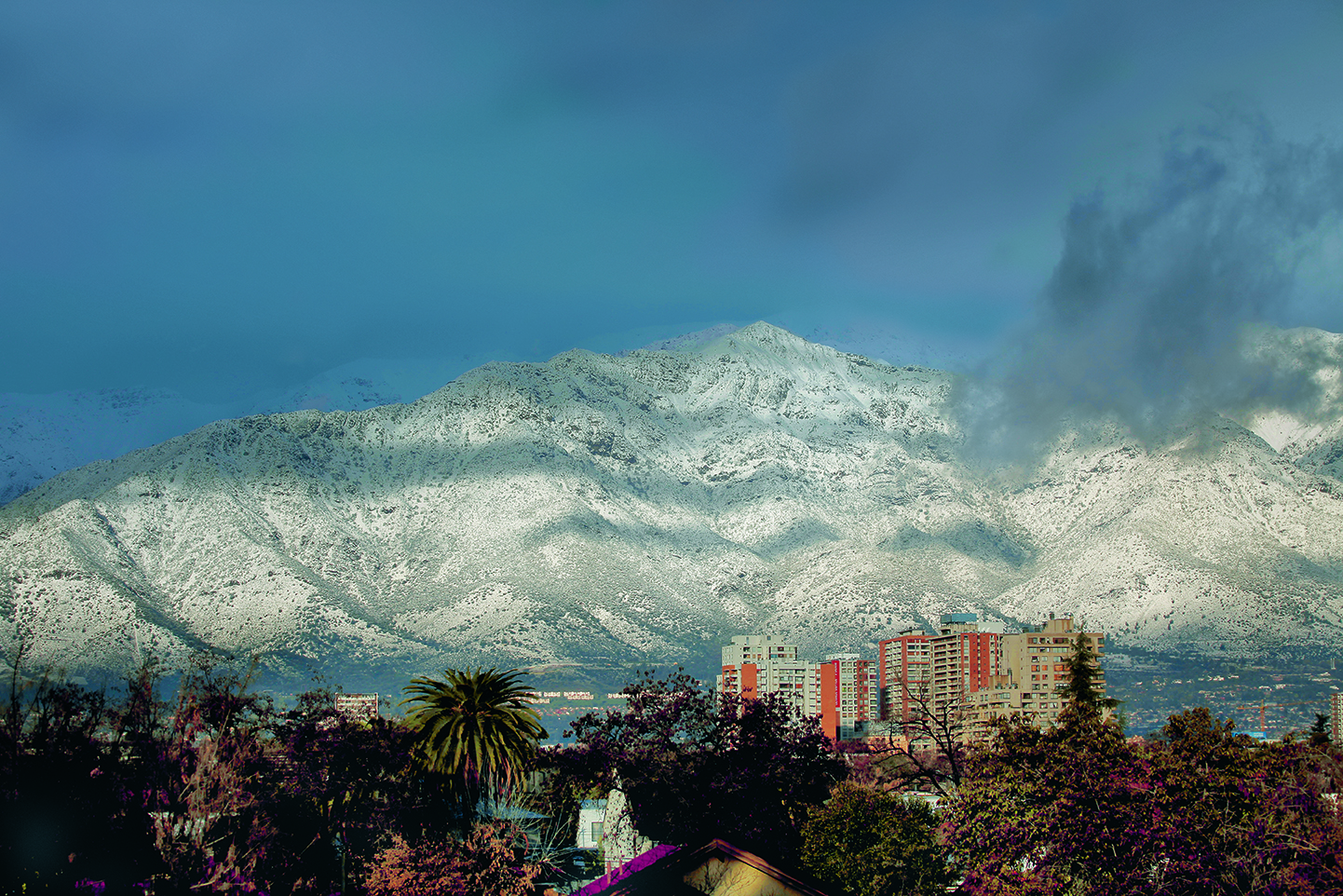 Santiago, Chile. Photo by Cristóbal Palma, from Boragó