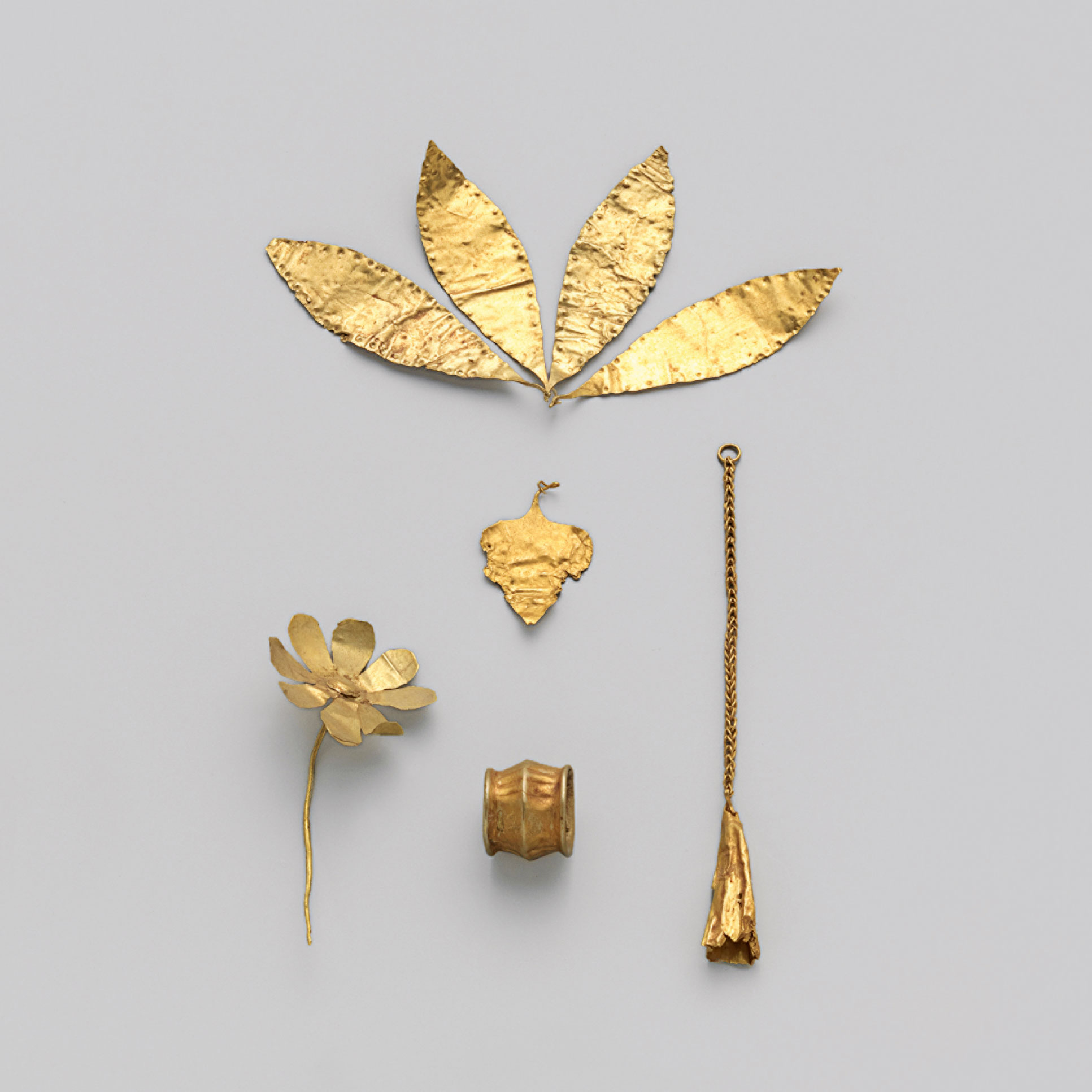 Anonymous, Gold ornaments, c.2300–2100 BC.
