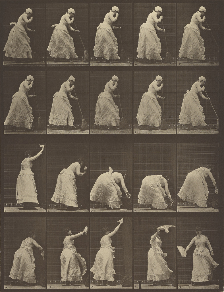 Animal Locomotion, 1878 by Eadweard Muybridge. Image courtesy of the Getty
