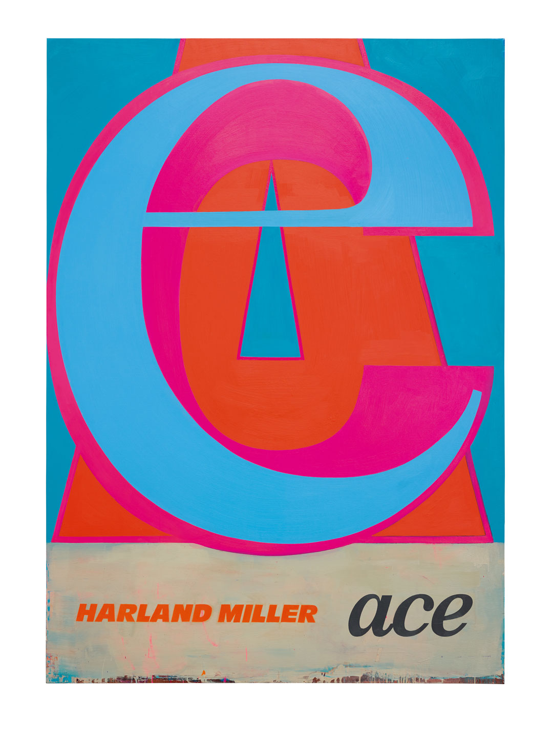 Ace (2017) by Harland Miller