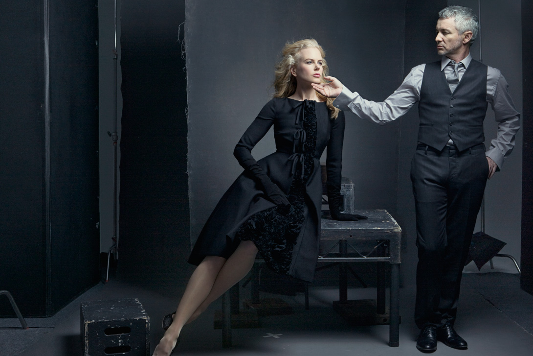 Nicole Kidman and Baz Luhrmann, New York City, 2008 by Annie Leibovitz. © Annie Leibovitz