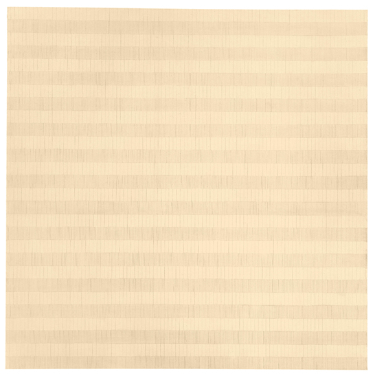 Pilgrimage (1966) by Agnes Martin