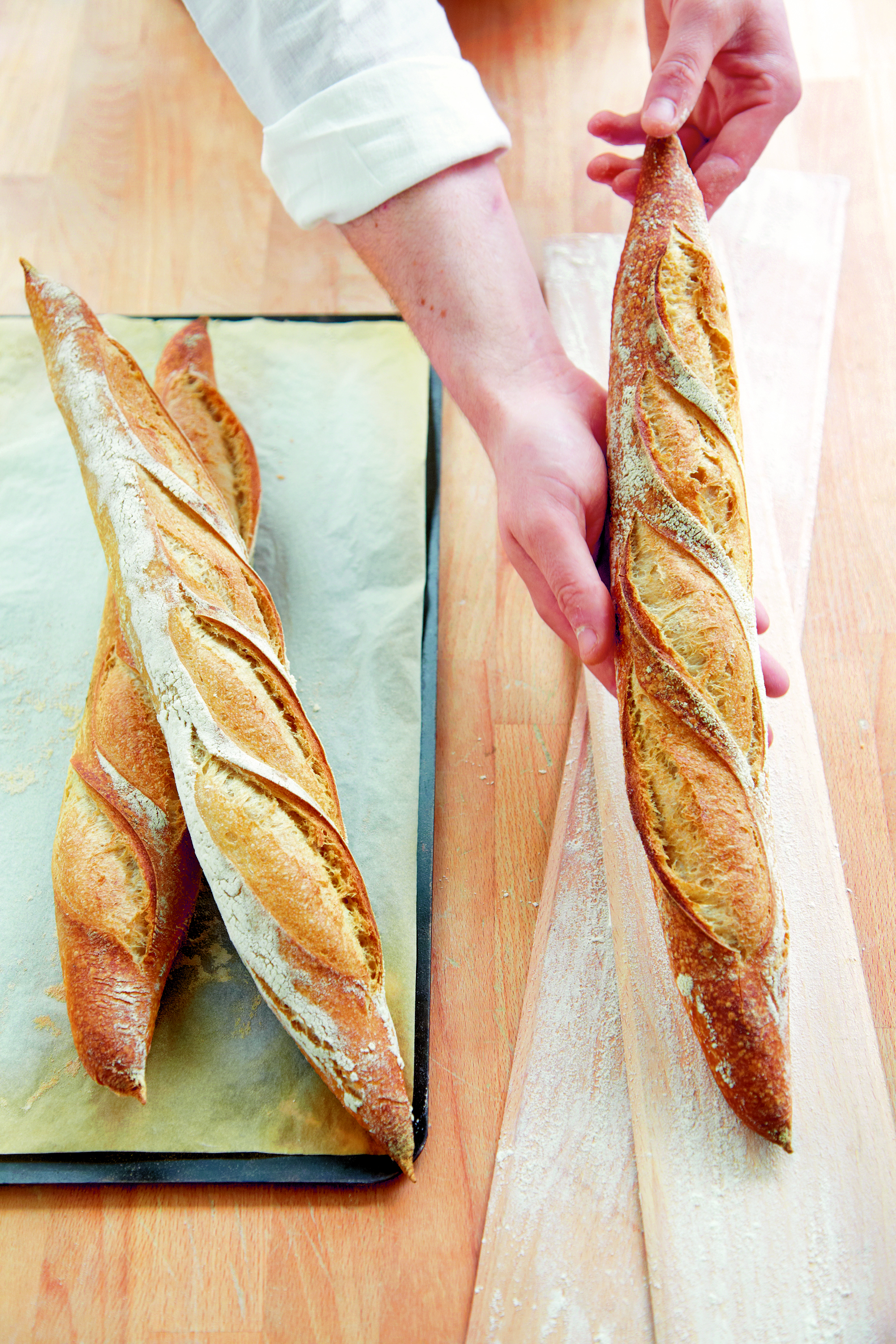 Phaidon's Upskill Sessions - How to Make a French Baguette