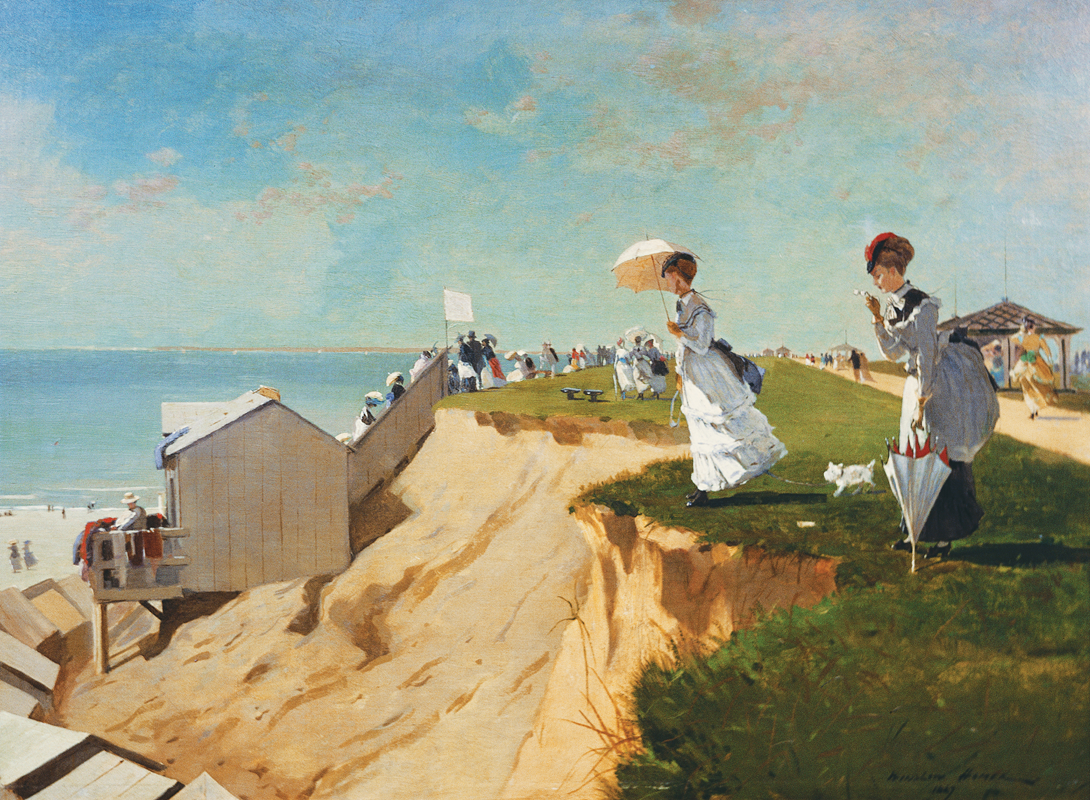 Long Branch, New Jersey, (1869) by Winslow Homer