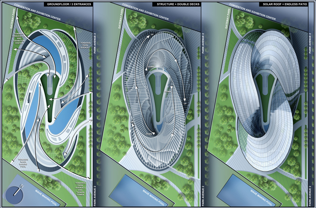 Mobius Strip Architecture