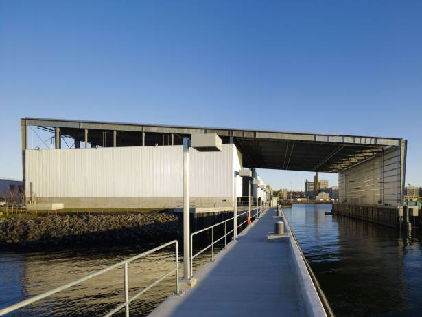 The Sunset Park Material Recovery Facility by Selldorf Architects. Image courtesy of Selldorf Architects