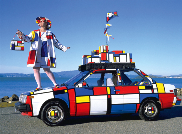 Emily Duffy's Mondrian Mobile, from Wild Art