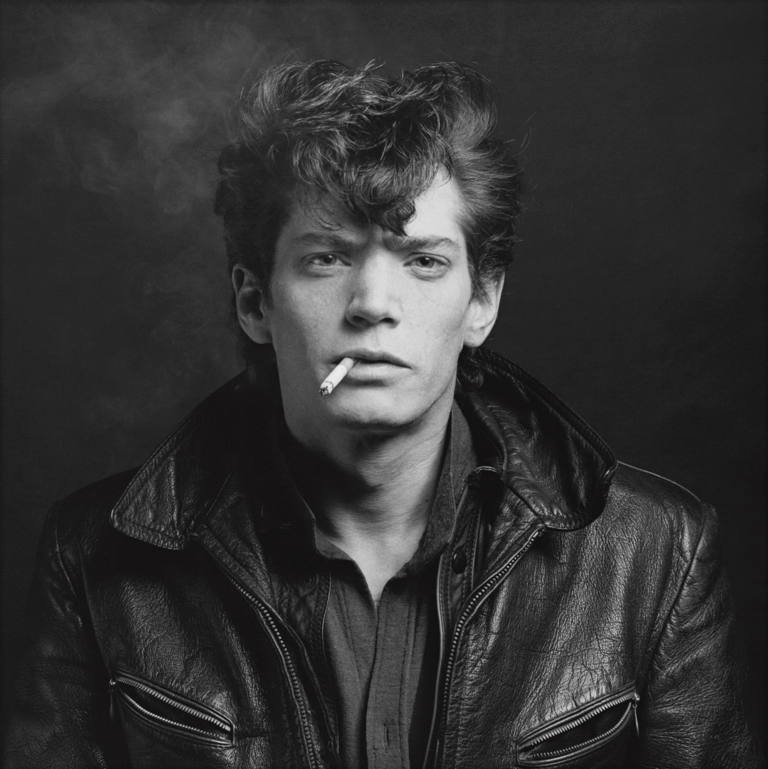 Robert Mapplethorpe: Self-Portrait, 1980.