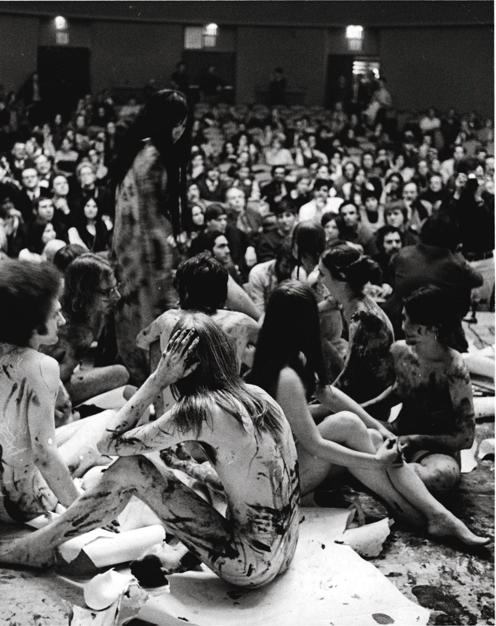 Yayoi Kusama, Happening, 1970, performance, New School For Social Research, New York. Artwork © Yayoi Kusama