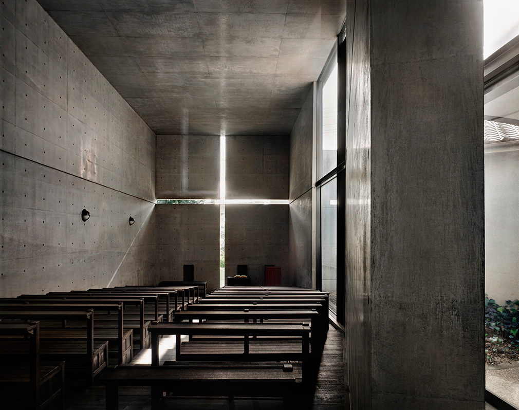 Tadao Ando, Church of the Light, Ibaraki, Osaka, Japan, 1989, Photograph © Copyright Richard Pare