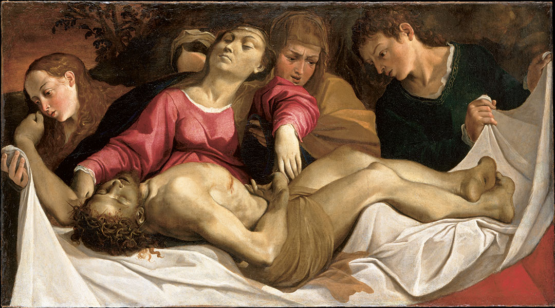 Ludovico Carracci, The Lamentation, ca. 1582.