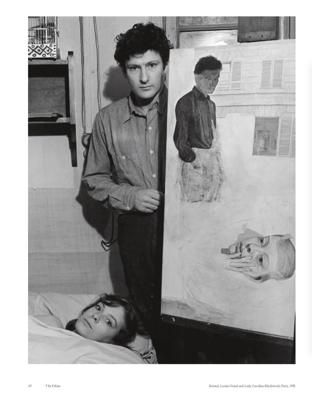 Brassaï: Lucian Freud and Lady Caroline Blackwood, Paris, 1952. Picture credit: National Gallery of Art, Washington / Horace W, Goldsmith Foundation through Robert and Joyce Menschel, 1998.52.8 / © Estate Brassaï – RMN-Grand Palais. © Estate Brassaï – RMN-Grand Palais