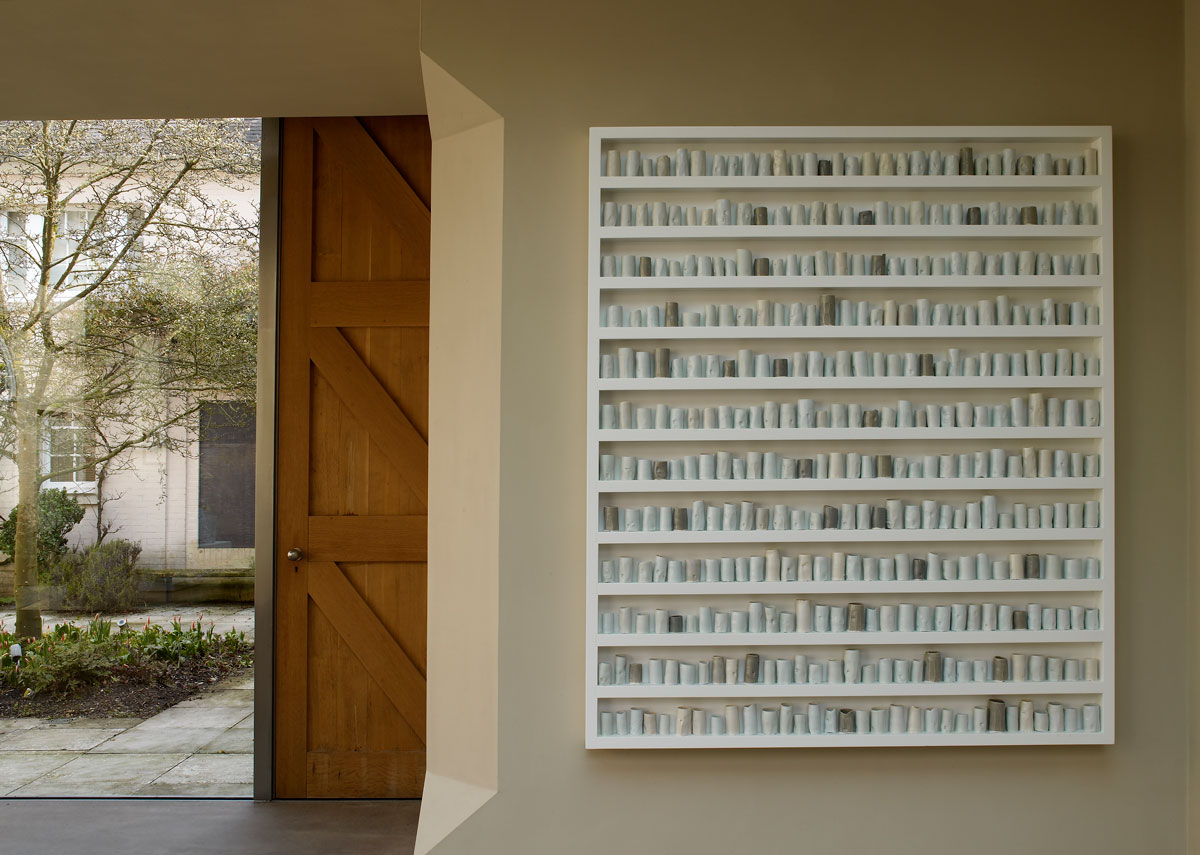 A change in the weather (2007) by Edmund de Waal. Photo courtesy Roche Court Sculpture Park