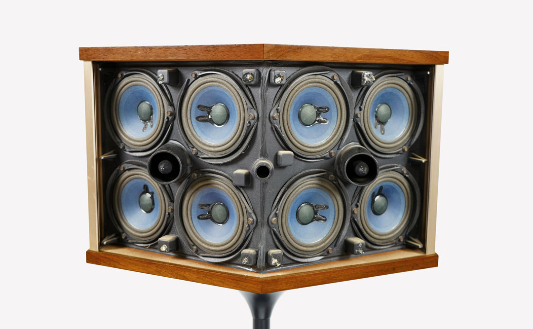901 Loudspeakers, Bose, 1968. Photo by Jeremy J. Fair
