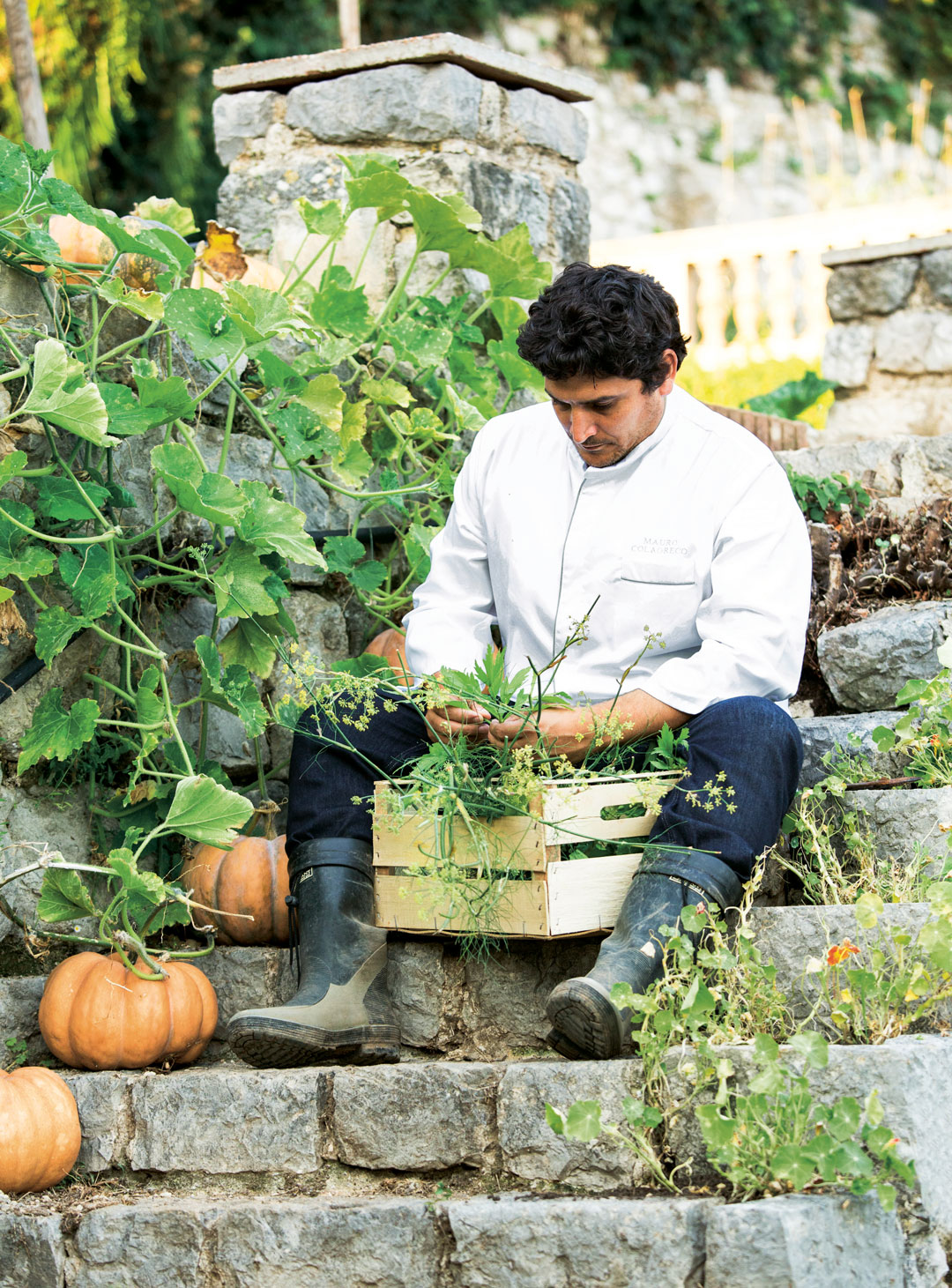 Want to garden like the world's best chef? Then break the rules