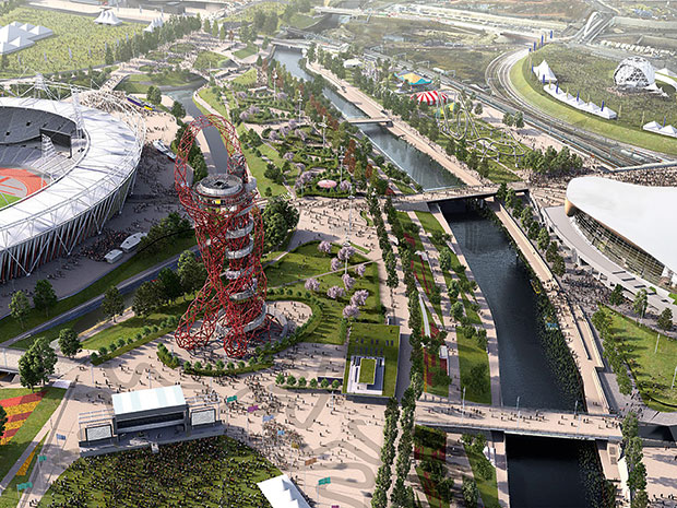 James Corner, James Corner Field Operations, New York, NY, USA: South Park at Queen Elizabeth Olympic Park, London, England, UK (2015) photo courtesy London Legacy Development Corporation