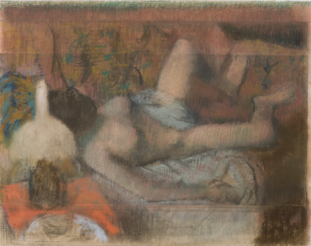 Who knew Degas did erotica?