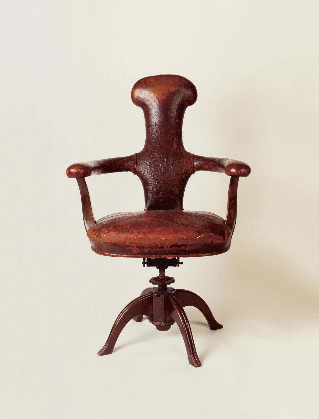 Sigmund Freud's Office Chair (1930) by Felix Augenfeld and Karl Hofmann