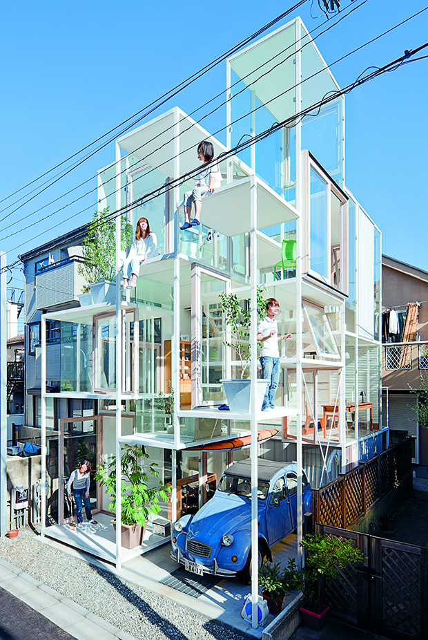 Visit the world 39 s wildest domestic environment for Small house design japan