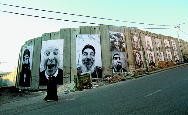 Face 2 Face: Separation Wall, Palestinian side, Bethlehem, 2007. From JR: Can Art Change the World