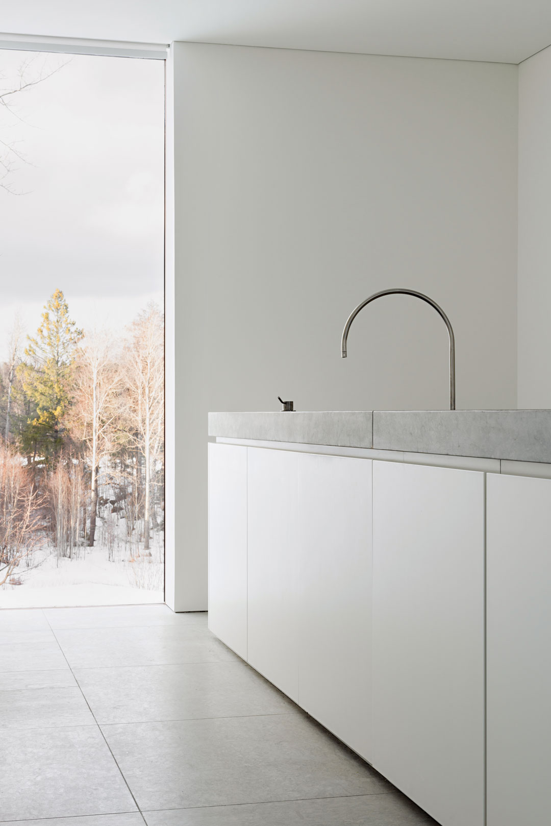 The Palmgren House, Sweden, by John Pawson