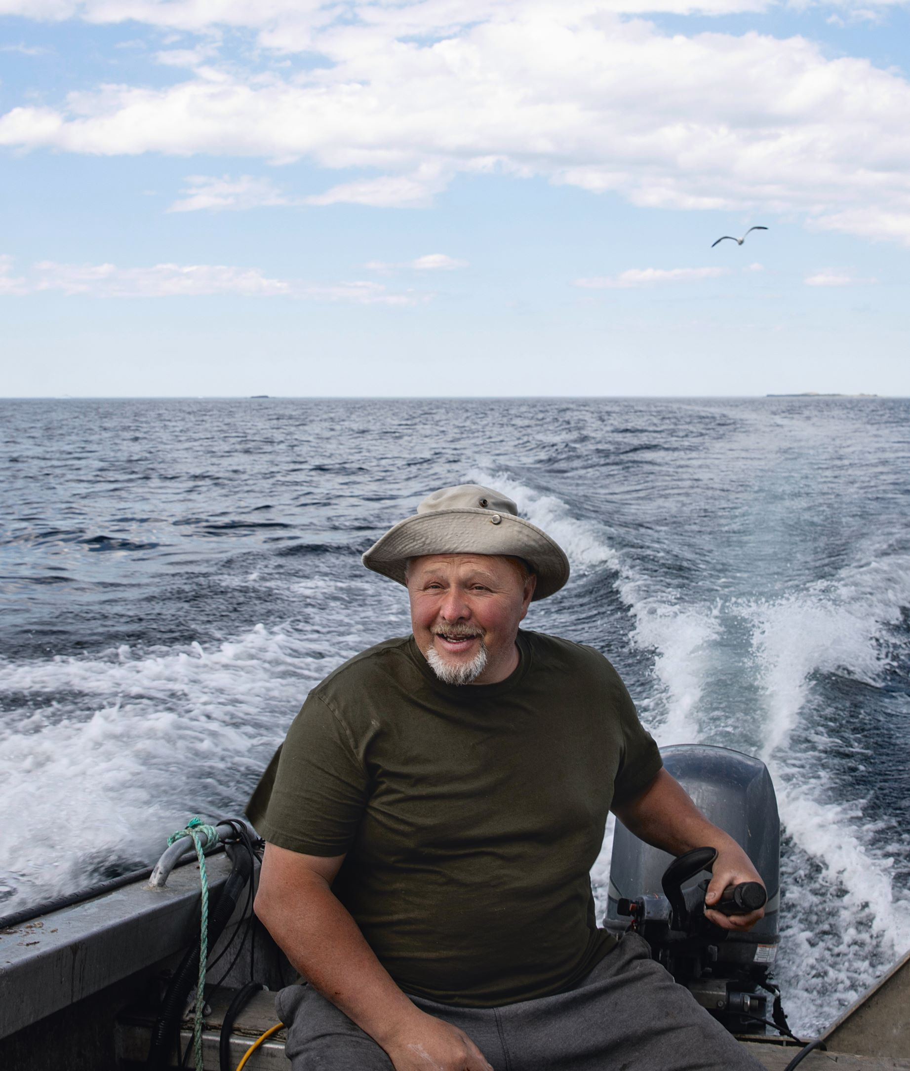 Bayman Jerry Hussey, as featured in Wildness: An Ode to Newfoundland and Labrador by Jeremy Charles
