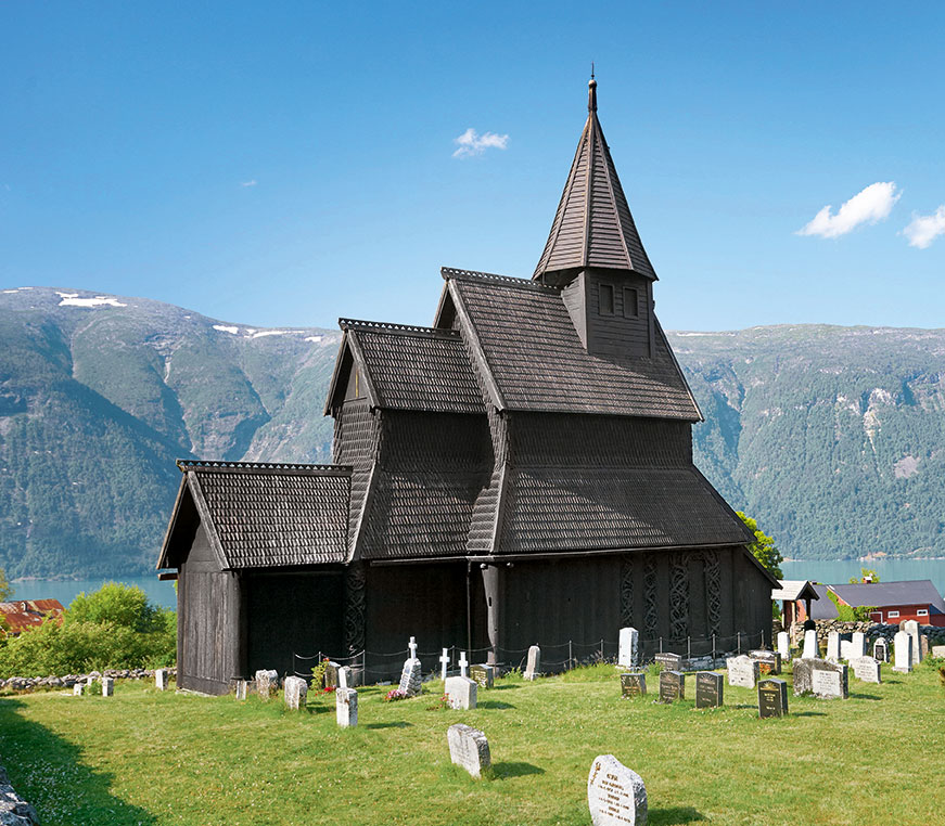 Urnes Church, Ornes, Norway, 12th century. From Black: Architecture in Monochrome