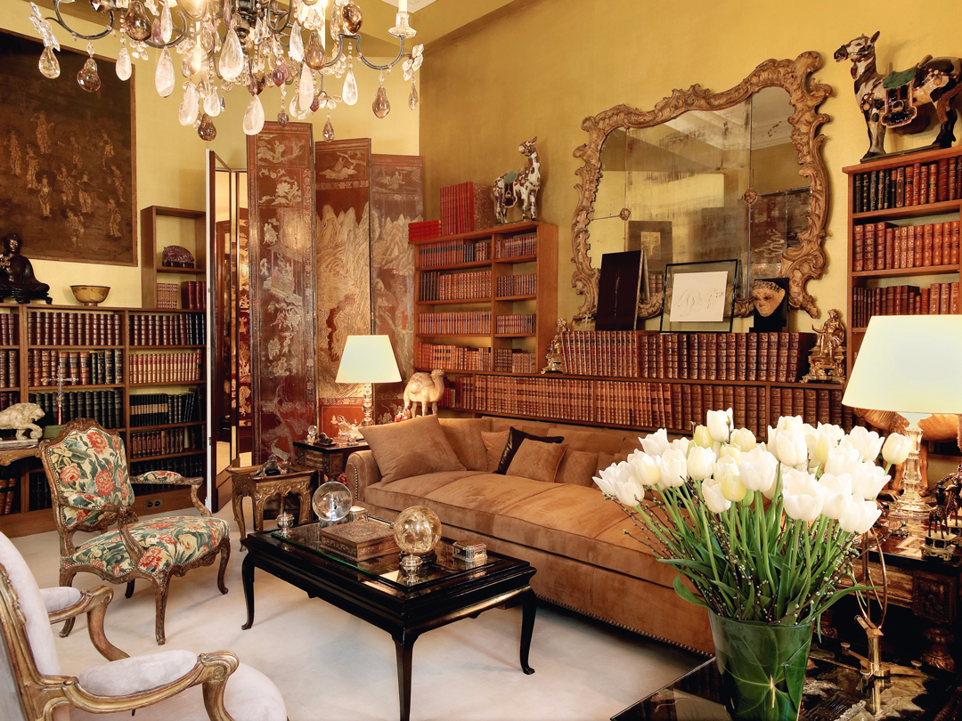 Attirant Gabrielle Chanel (designer And Client), Chanel Residence, Salon, Paris,  France