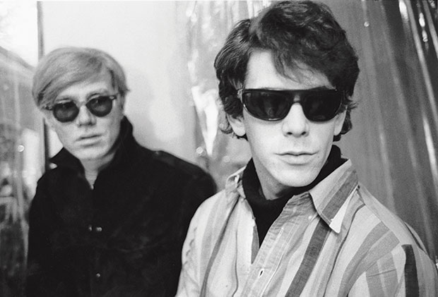 Andy Warhol and Lou Reed. From Factory Andy Warhol Stephen Shore