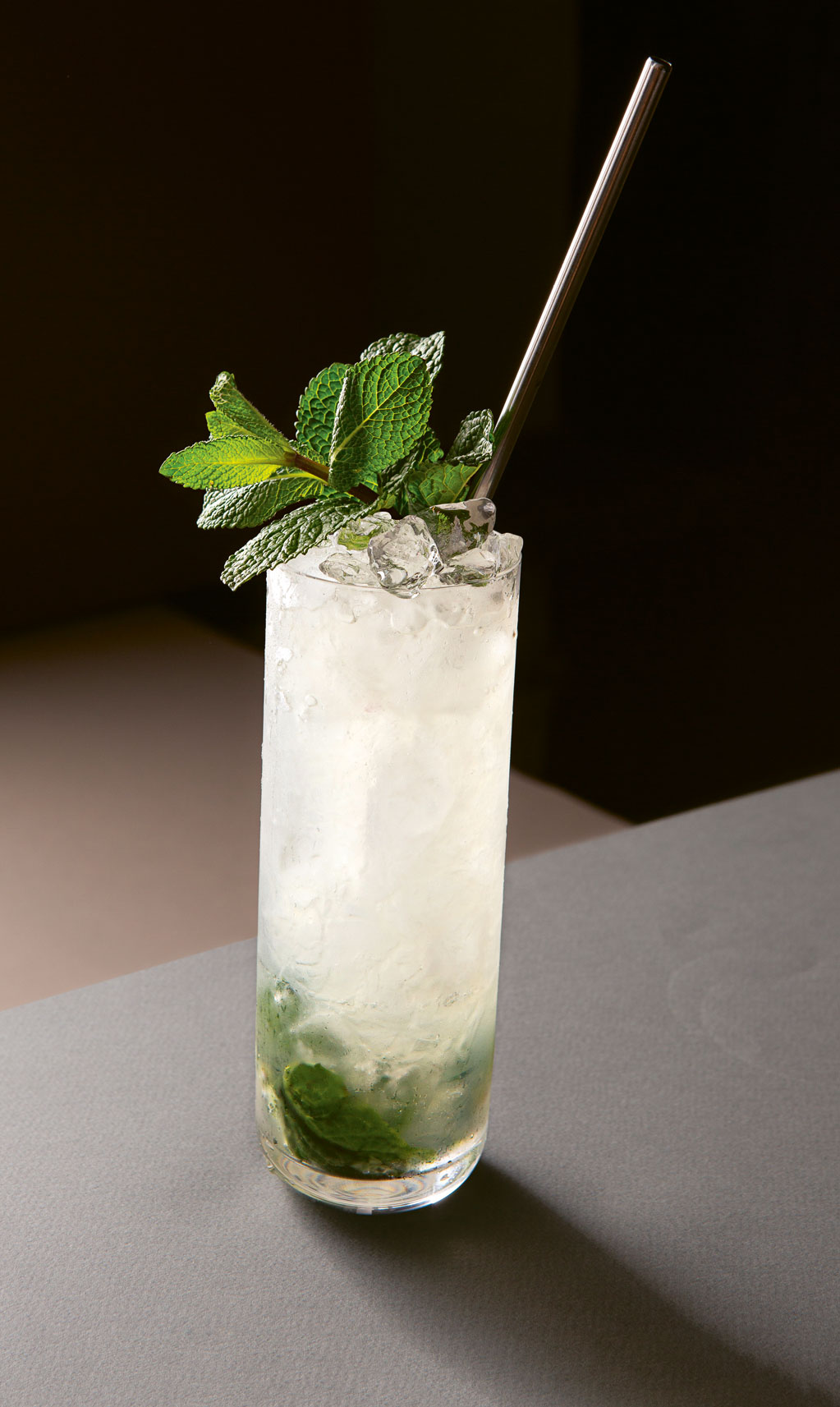 A mojito, as featured in Spirited