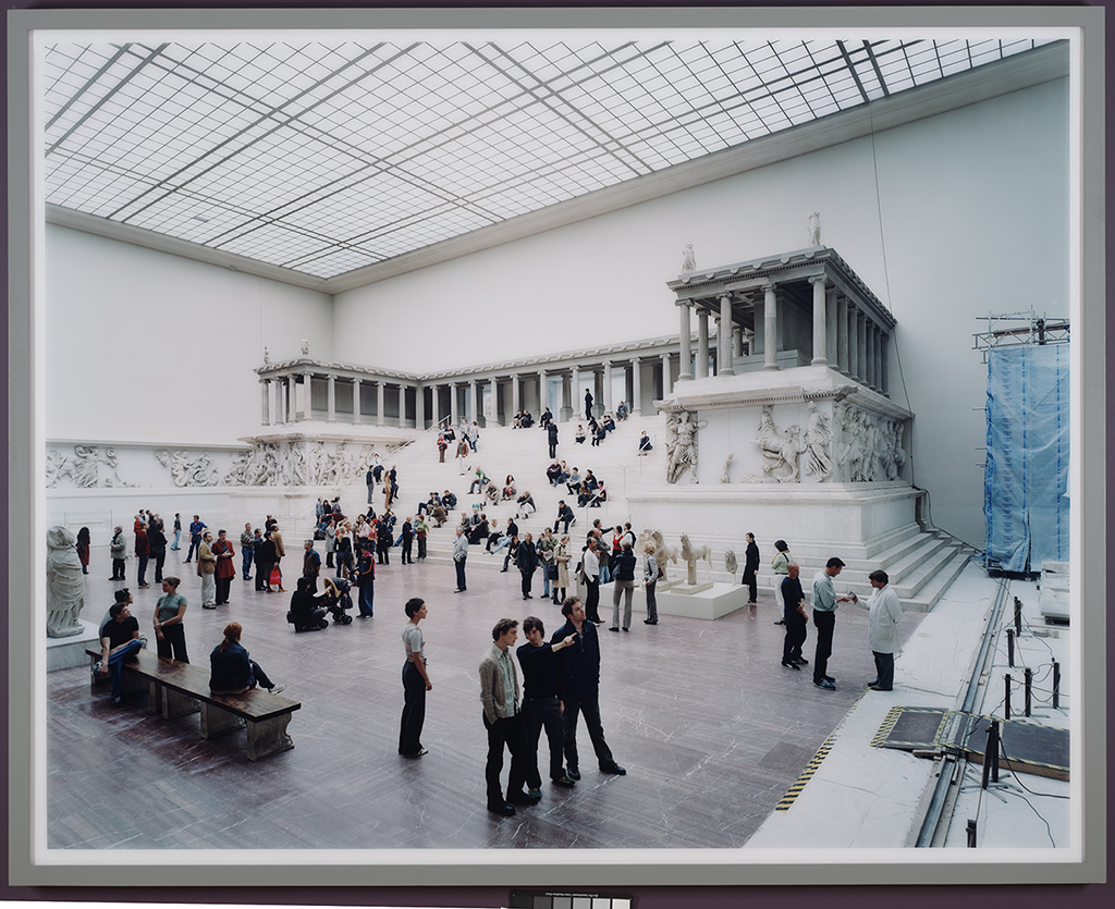Thomas Struth (German, b. 1954). Pergamon Museum I, Berlin, 2001. Chromogenic print, 80 1/2 x 100 5/8 in. Dallas Museum of Art, Contemporary Art Fund: Gift of Arlene and John Dayton, Mr. and Mrs. Vernon E. Faulconer, Mr. and Mrs. Bryant M. Hanley, Jr., Marguerite and Robert K. Hoffman, Cindy and Howard Rachofsky, Deedie and Rusty Rose, Gayle and Paul Stoffel, and three anonymous doners, 2002.46. Image courtesy the artist. © 2018 Thomas Struth